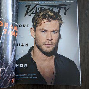 Other - Variety Magazine May 2019 Chris Hemsworth